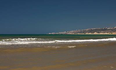 Photograph - Haifa Across The Mediterranean by Endre Balogh