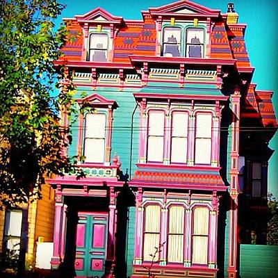 Victorian Wall Art - Photograph - Haight And Ashbury Reminiscent  by Karen Winokan