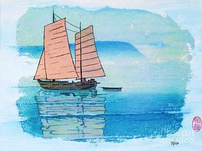 Painting - Haiphong Harbor by Roberto Prusso