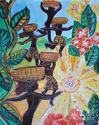 Haiti Reaquake Art Print