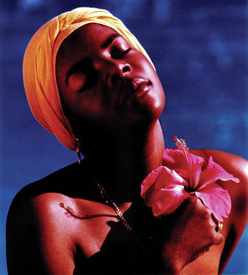 Photograph - Haitien Hibiscus Beauty by Johnny Sandaire