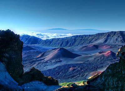 Photograph - Haleakala Crater 1 by Ken Smith