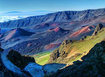 Photograph - Haleakala Crater 2 by Ken Smith