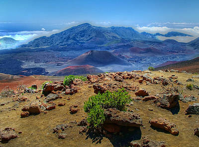 Photograph - Haleakala Crater 3 by Ken Smith