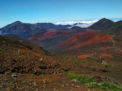 Photograph - Haleakala Crater 5 by Ken Smith