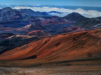 Photograph - Haleakala Crater 7 by Ken Smith