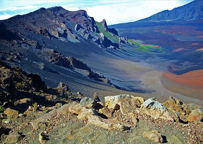 Photograph - Haleakala Crater by Sheila Kay McIntyre