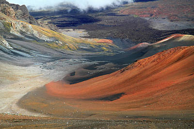 Photograph - Haleakala Landscape by Pierre Leclerc Photography