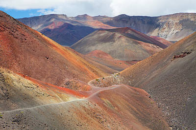 Y120817 Photograph - Haleakala National Park by Monica and Michael Sweet