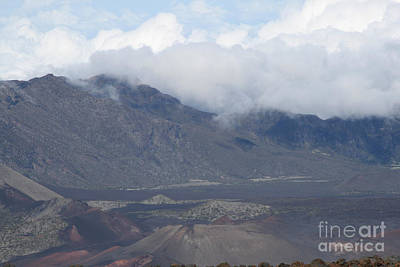Photograph - Haleakala Volcano Maui Hawaii by Sharon Mau