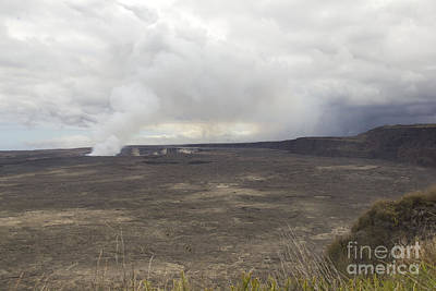 Fun Patterns - Halemaumau Crater Of Kilauea Volcano by Fahad Sulehria