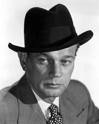 1951 Movies Photograph - Half Angel, Joseph Cotten, 1951 by Everett