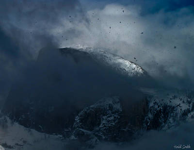 Photograph - Half Dome - Extreme Winter by Heidi Smith