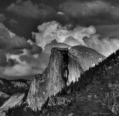 Photograph - Half Dome by Beth Sargent