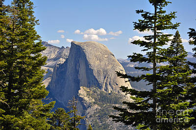 Half Dome Art Print by Camille Lyver