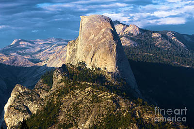 Photograph - Half Dome From Washburn by Adam Jewell
