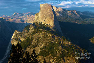 Photograph - Half Dome From Washburn Point by Adam Jewell