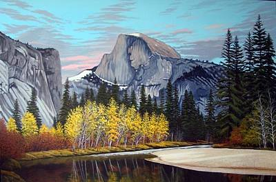 Half-dome Print by Rick Gallant