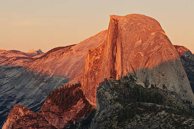 Photograph - Half Dome Sunset by Nolan Nitschke