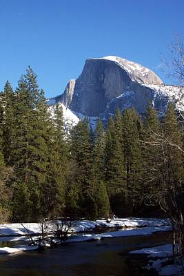 Photograph - Half Dome Winter by Eric Tressler