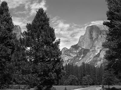 Photograph - Half Dome Yosemite National Park by Grace Dillon
