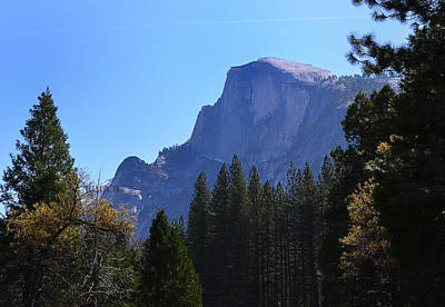 Photograph - Half Dome-yosemite by Rima Biswas