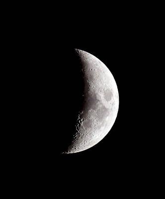 Photograph - Half Moon by Athena Mckinzie