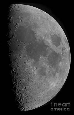 Half-moon Print by Rolf Geissinger
