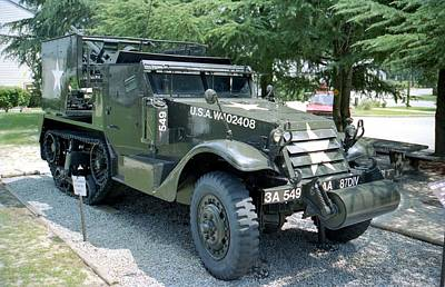 Photograph - Half Track by Lynnette Johns