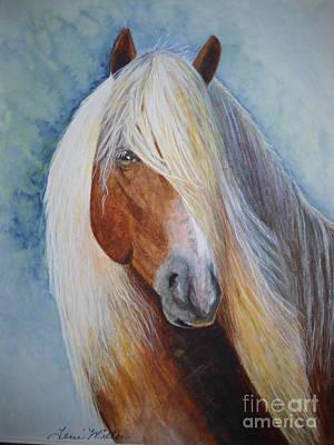 Painting - Halflinger by Terri Maddin-Miller