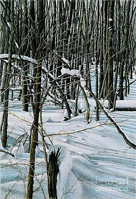Painting - Haliburton Ontario by Robert Hinves