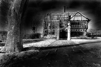 Hall 'ith Wood Manor  Art Print by Matt Nuttall