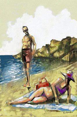 Hallo Art Print by Alexandros Koumpios