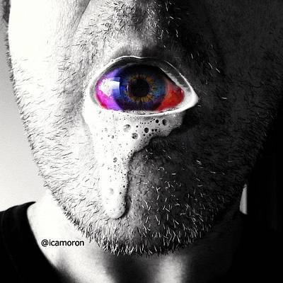 Eye Wall Art - Photograph - Hallowe'en by Cameron Bentley