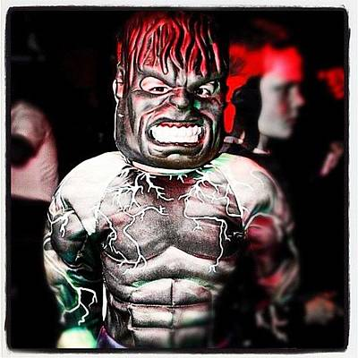 Horror Photograph - #halloween #costume #monster #horror by Toonster The Bold