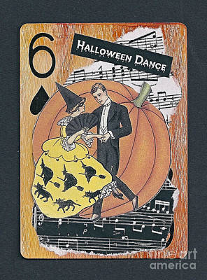 Mixed Media - Halloween Dance by Ruby Cross