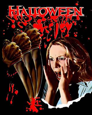 Halloween, Jamie Lee Curtis, 1978 Art Print