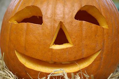 Photograph - Halloween Pumpkin by Matthias Hauser