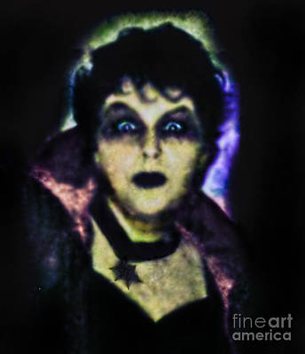 Photograph - Halloween Vampire Look by Alexandra Jordankova