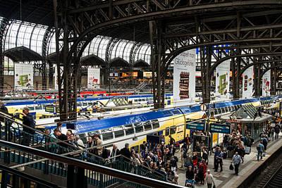 Whalen Photograph - Hamburg Central Station Two by Josh Whalen