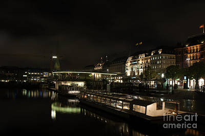 Photograph - Hamburg City by Jorgen Norgaard