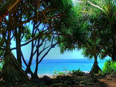 Photograph - Hanakapiai Beach 2 by Ken Smith