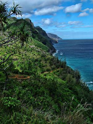 Photograph - Hanakapiai Beach Trail by Ken Smith