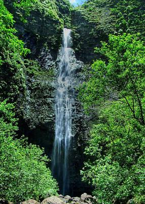 Photograph - Hanakapiai Falls by Ken Smith