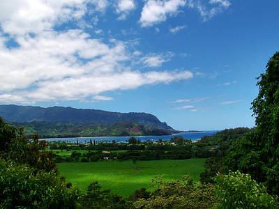 Photograph - Hanalei Bay 1 by Ken Smith