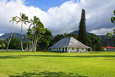 Hanalei Mission House Kauai Art Print