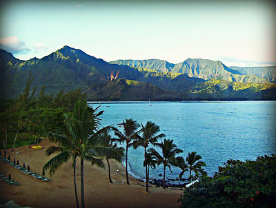 Photograph - Hanalei Morning by Paulette B Wright