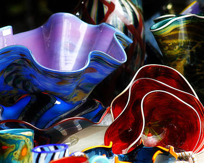 Photograph - Hand Blown Glass 5 by Scott Hovind