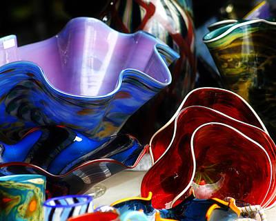 Art Blown Glass Photograph - Hand Blown Glass 5 by Scott Hovind