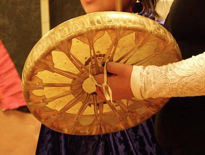 Hand Drum Art Print by FeVa  Fotos